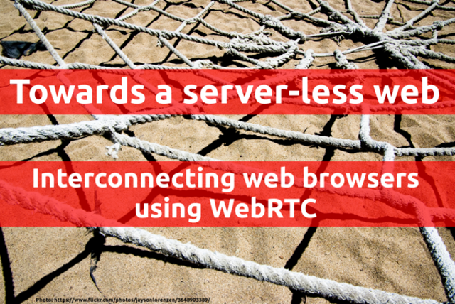 FrOSCon WebRTC slide preview