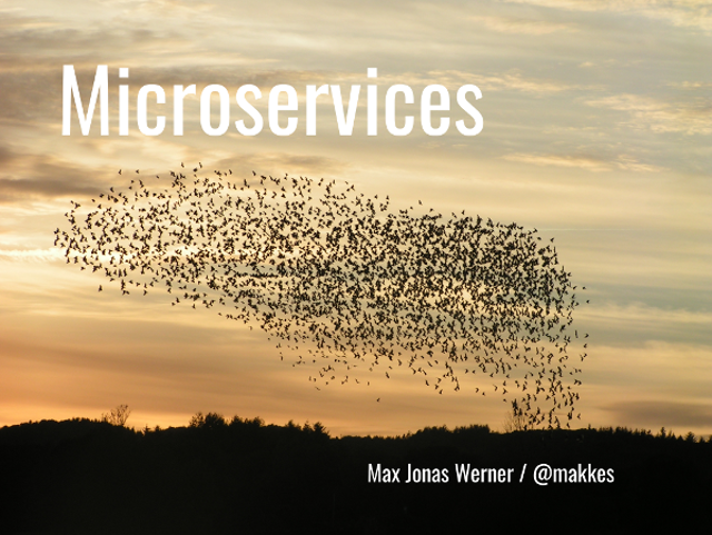 Microservices slide preview